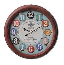 Unbranded Glass Round Wall Clocks