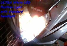 SUZUKI GS500F Motorcycle Gauge & Position ULTRA White LED Light Bulbs Globes