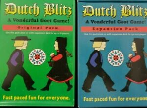 New Dutch Blitz Original and Expansion Pack Card Game Ages 8+ 2-4 Players
