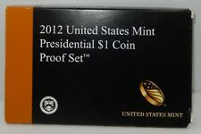 2012 US Mint issued Presidential $1 Proof Set !!