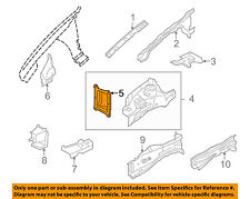 JAGUAR OEM 04-08 X-Type FENDER-Reinforcement Bracket Left C2S25539