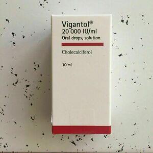 Vigantol Oil 10ml Oral Drops 20 000 iu Vitamin D3 🚚 Fast Dispatch 🚚 UK Seller