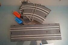 VINTAGE BANDAI TRACKS FOR SLOT CARS WITH TWO REMOTE CONTROLS