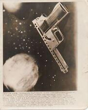1965 Abstract Modern Photo of Gyrojet Rocket Handgun San Ramon CA