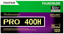 5 Roll Fuji Pro 400H 120 Color Negative Film Daylight 400 FUJIFILM Exp 10/2018