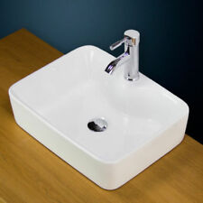 Solid Pattern Square Bowl/Basin Home Bathroom Sinks
