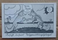 GERMANY FOX 1945 POSTCRD REICH FUHRER CACHET GRAFENWOHR