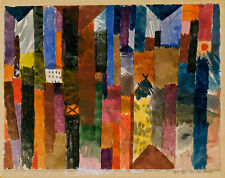 Before the Town by Paul Klee 1915 60cm x 47.5cm High Quality Art Print