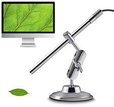 MAOZUA USB Digital Microscope 10X-200X Waterproof 2-in-1 Inspection Endoscope 8