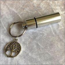 Anointing Oil Holder w Inner Vial, Tree of Life, Essential Oil Holder