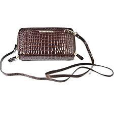 Small Crocodile Skin Shoulder Clutch Bag Designer Leather Large Purse Vintage