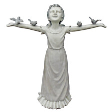 Basking in Gods Glory Statue Decor Figurine Garden Lawn Ornament Patio Outdoor