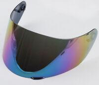 visiera specchio arcobaleno per agv k1 k3-sv  k5 k5s horizon  gt2 ml l xl