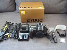 Nikon D7000 16.2MP Digital SLR Camera - Black (Body Only) +Plus extras