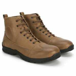 Royal Enfield Stalwart Sneakers - Brown (Size 43 CM)