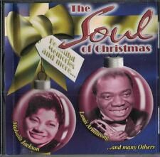 The Soul of Christmas CD 1999 Mahalia Jackson Louis Armstrong & Many More