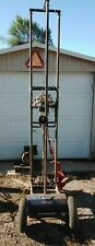 Water Well Portable Drilling Rig Post Hole Drill Pump Tank Pipe Rig