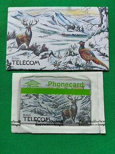 A BT Phone Card In Sealed Sleeve,  A Highland Stag