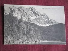AK Die Zugspitze vom Eibsee aus  1828