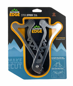 Outdoor Edge Ribcage Spreader Steel Stick Pivoting Steel Field Dressing New