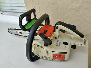 STIHL 009L Electronic Stop Chainsaw Top Handle Arborist Chain Saw Vintage