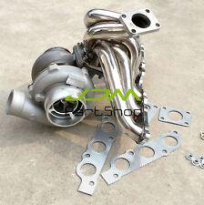 GT45 AR 0.84 oil Turbo SET Exhaust Manifold KIT For Toyota lexus 2JZGE 2JZ-GE