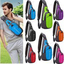 Small Chest Bag Pack Travel Sport Shoulder Sling Backpack Cross Body Outdoor