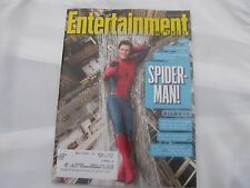 Spider-Man Featured Cover Entertainment Weekly Magazine 07-07-17