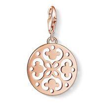 Thomas Sabo Charm CC1024 Rose Gold Plated Arabesque Charm