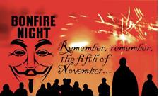 Guy Fawkes Flag 5ft x 3ft Bonfire Fireworks Night Remember 5th November