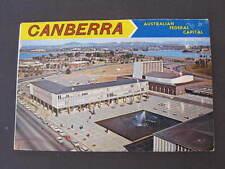 Canberra ACT Souvenir Folder Foldout Views Postcard