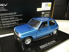 1:18 NOREV RENAULT 5 Alpine blau blue 1. Edition NEU NEW