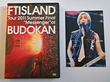 FTISLAND Tour 2011 Summer Final Messenger at Budokan Japan Press 2 DVD Postcard