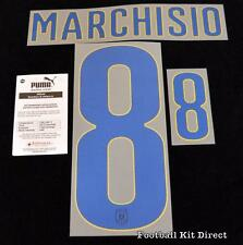 Italy Marchisio 2014 World Cup Shirt Name/Number Set Kit Away