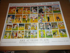 ART AT HOME PLATE~PHILADELPHIA LEGENDS~(Mike Schmidt & MORE) PRINT Dick Perez NF