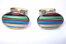 Duchamp Oval Cufflinks for Men
