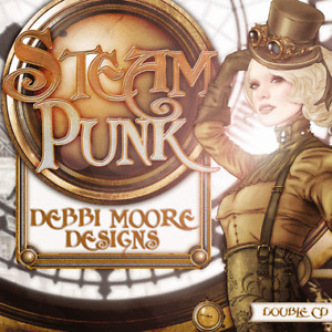 1 x Debbi Moore Designs Steampunk Double CD Rom (296238)