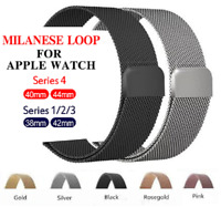 Apple Watch Milanese Magnetic Stainless Steel Strap iWatch Wristwatch Bands