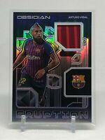 2020-21 Panini Obsidian Soccer Eruption Patch Barcelona Arturo Vidal /75