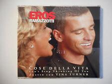 EROS RAMAZZOTTI : COSE DELLA VITA ♦ CD SINGLE ITALIE PORT GRATUIT ♦