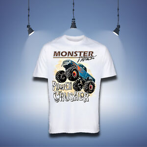 Monster Truck Boys T-shirt Gift Tops&Shirt