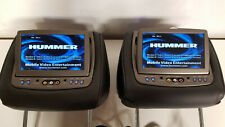 H2 HUMMER SUT SUV 2008 2009 OEM FACTORY HEADREST DVD ENTERTAINMENT