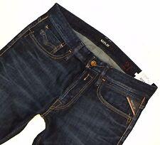 R002 REPLAY Herren / Jungen Jeans Hose NEWBILL MA955 Comfort Fit W 27 L 32 blau
