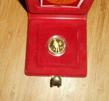 1985 Netherlands Gold Ducat Proof Coin & Box