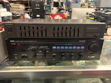 Vintage TECHNICS SH-8017 7 Band Light-up Stereo Graphic Equalizer EQ Works Great