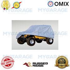 Rugged Ridge For 76-95 Jeep CJ/Wrangler YJ Weather-Lite Car Cover Full -13321.51