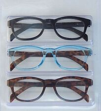 BETSEY JOHNSON 3 PAIRS READING GLASSES READERS MLT-COLOR BBB +2.00 NEW AUTHENTIC