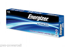10 x Energizer Lithium Batterie AA Mignon LR6 FR6 MP3 Photo 1,5 V lose L91