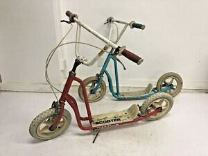 Vintage BMX SCOOTER Lot 80s Randor Freestyle frame parts zoot scoot old school