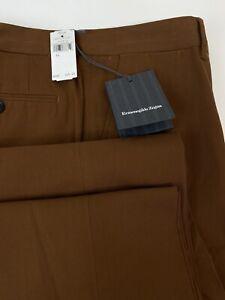 RARE NWT Ermenegildo Zegna Hidden Pocket Stretch Cotton Pants 54 US 36 MSRP $445